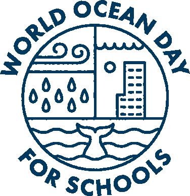 World Oceans Day for Schools logo