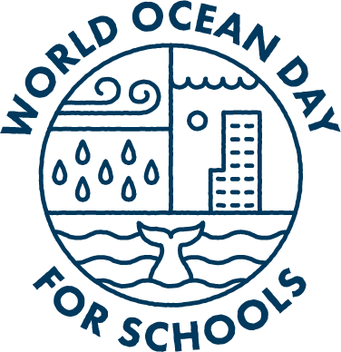 World Oceans Day for Schools logo