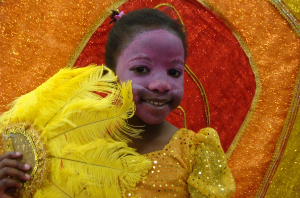 Luton Carnival girl