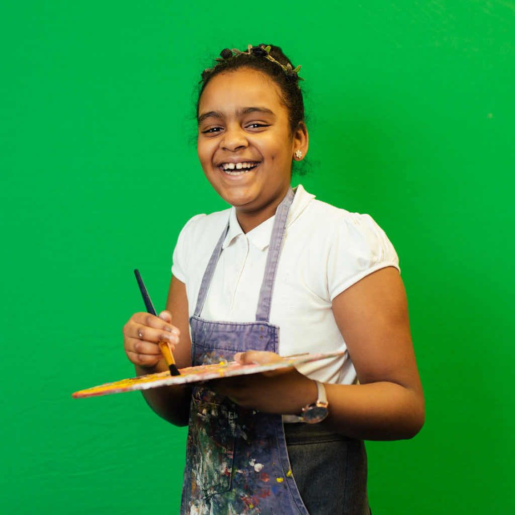 Shortstown Primary School pupils explore studio portraits