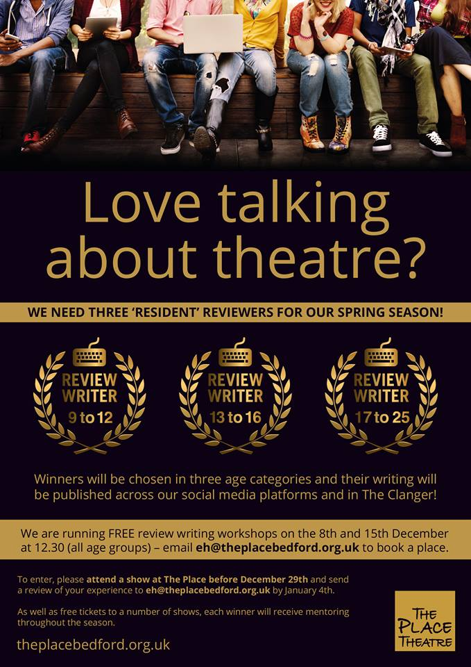 The Place theatre seeks resident writers