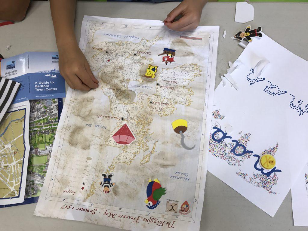Mini Map Makers workshop