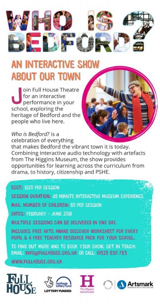 Full House Theatre - Who is Bedford?